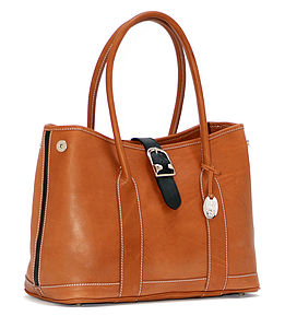 As Featured In Vogue - Latimer Leather Tote - shoulder bags