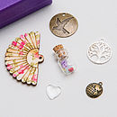 'Little Mum Kit' - showing detail of the charms