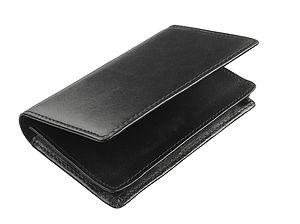 Black Italian Leather Business Card Case - bags & purses