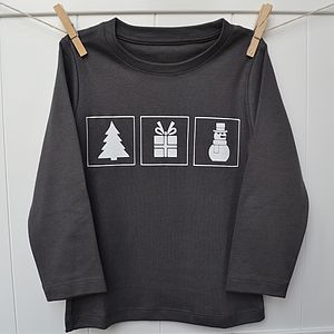 Boy's 'Christmas Favourites' T Shirt