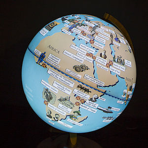 First World War Light Up Globe - children's room accessories