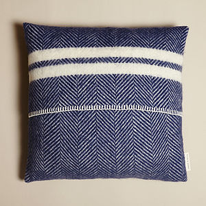 Striped Wool Cushion - cushions