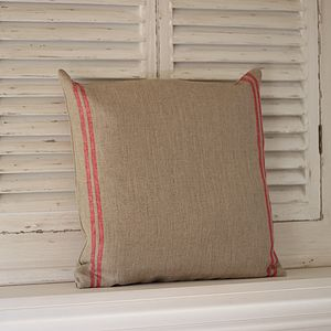 Grain Sack Style Cushion - cushions
