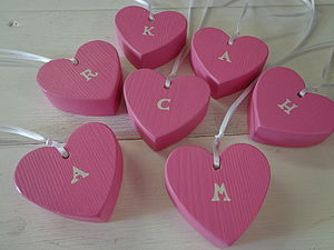 Initial Heart Decoration