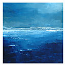 Calm Sea Canvas Painting