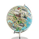 Illustrated Cardiff Globe