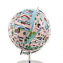 Illustrated Amsterdam Globe