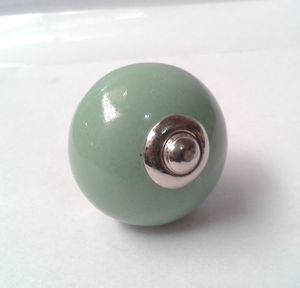 Round Ceramic Drawer Knob