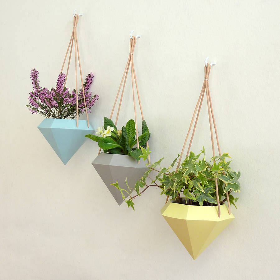 indoor plant pots hanging planter by attn studio 12163