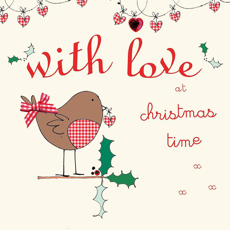 Love quotes for christmas cards quotesgram for Love quotes for card