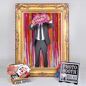 Party Frame Photobooth, Props And Decor