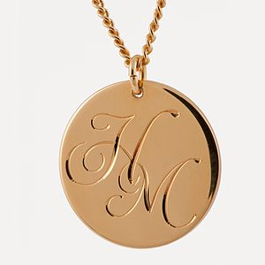 Entwined Initials Necklace