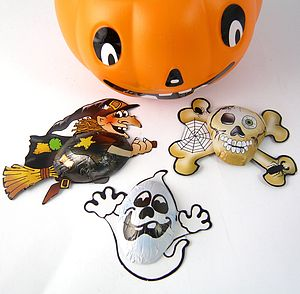 Halloween Chocolate Foiled Shapes - halloween