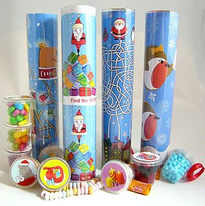 Lots Of Pots Of Sweets Puzzle Advent Calendar - christmas parties & entertaining