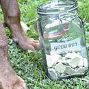 Personalised Dog Treat Kilner Jar
