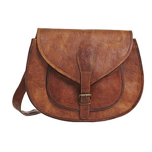 Vintage Style Leather Handbag - handbags