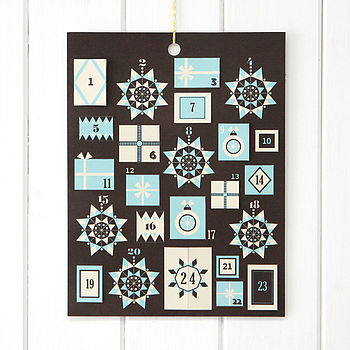 Handmade Customisable Advent Calendar