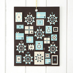 Handmade Customisable Advent Calendar - advent calendars