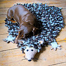Herby Hedgehog Felt Animal Rug