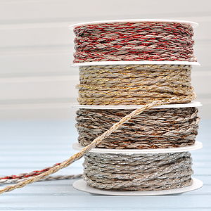 Metallic Twine String - ribbon & wrap