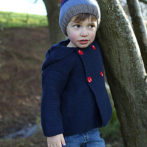 Baby Garter Stitch Jacket - coats & jackets