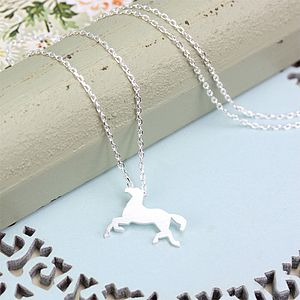 Treasure Me Carousel Pony Necklace - jewellery