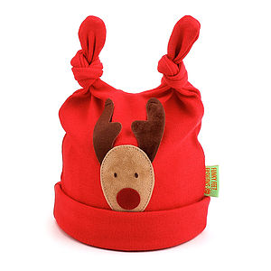 Rudolf Baby Hat - christmas clothes for babies and children