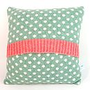 jade dot cushion