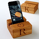Personalised Stand For iPhone Or iPad