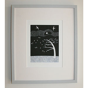 Signed Do Not Stand Print - monochrome