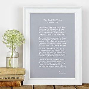 Bespoke Your Special Words Print Vintage Style