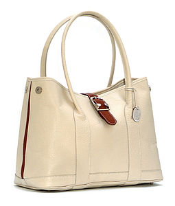 As Featured In Vogue - WhiteTote Bag - bags & purses