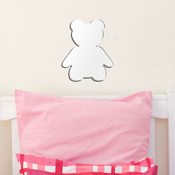 Teddy Nursery Wall Art Mirror