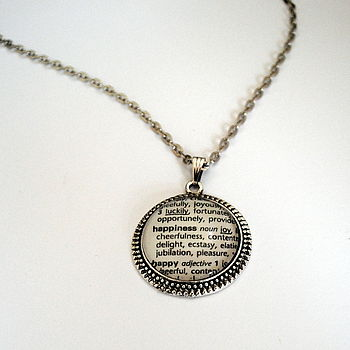 The Art Of Happiness Pendant