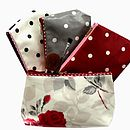 Corporate Gift Oilcloth Cosmetic Bag