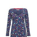 Big Love Tunic Indigo Floral