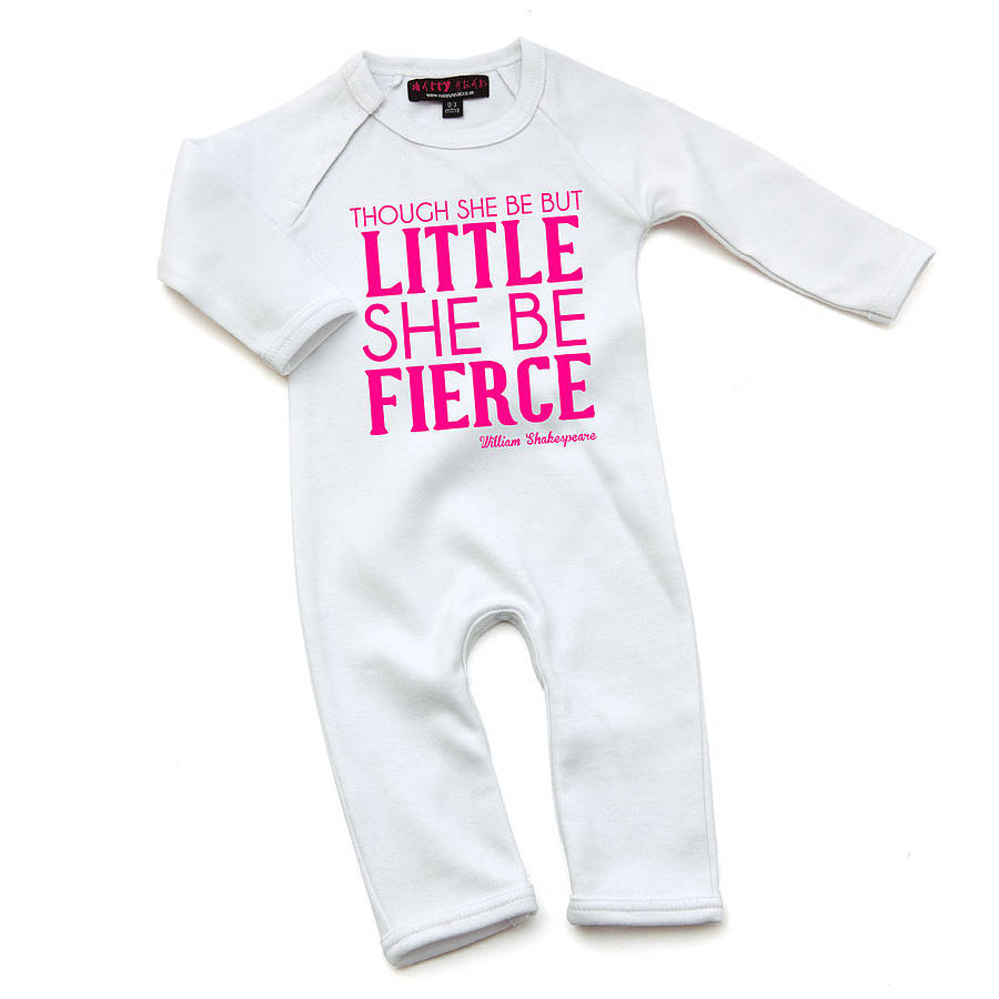 Funny William Shakespeare Quote Babygrow By Yeah Boo