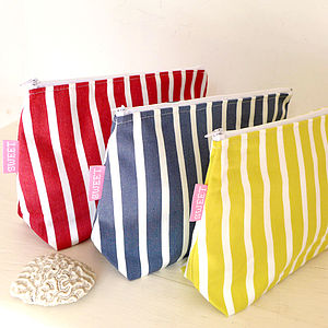 Breton Washbag - make-up & wash bags