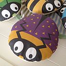 Children's Round Bug Cushion