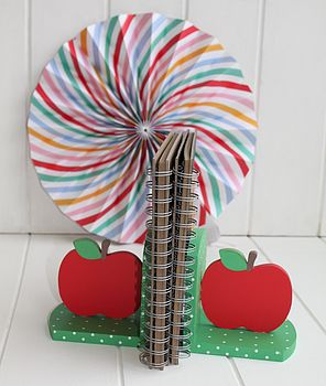 Apple Bookends