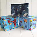 Boys Insulated Lunch Bags