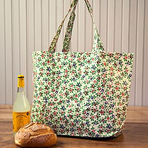 Rambling Rose Recycled Shopper Bag