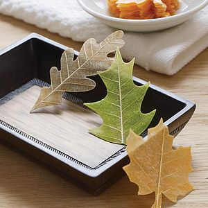 Soap Leaves In A Box - table decorations