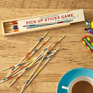 Traditional Pick Up Sticks Game - shop by price