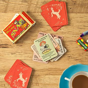 Traditional Nursery Rhyme Snap Card Game