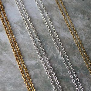 Trace Chains - necklaces & pendants