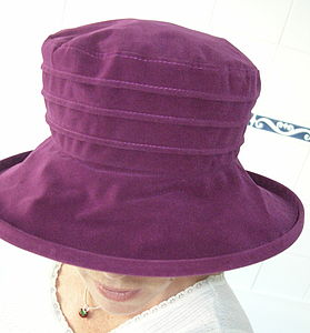 Fold Up Waterproof Hat - women's fashion
