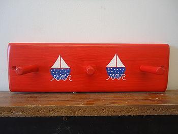 Sailboat Peg Rack