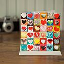 Collections Greeting Card Love Hearts