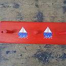 Sailing Boat Peg Rack